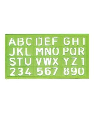 alvin ls44 4 piece set lettering stencil template engineersupply