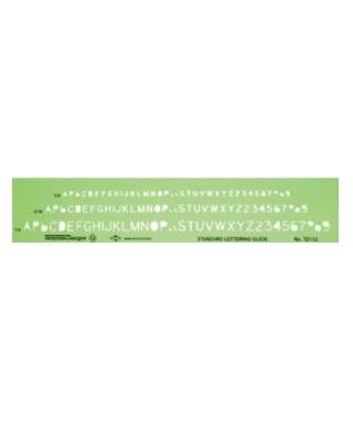 alvin td112 lettering template engineersupply