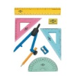 Alvin FL04 - 8-Piece Geometry Set with Compass ES7222