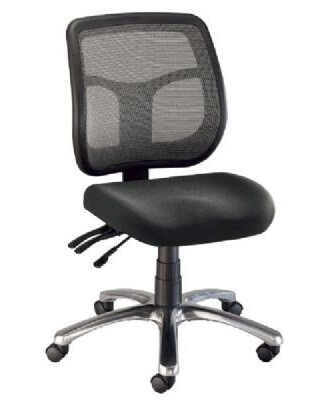 Alvin CH728-45 - Argentum Mesh Back Chair - Office Height ES7262