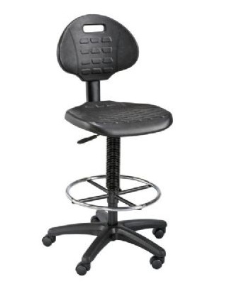 Alvin DC249 - LabTek Black Utility Chair ES7289