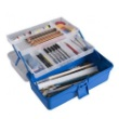Alvin HPB0912 - Heritage Arts Two-Tray Art Tool Box ES7307