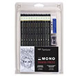Alvin 51523 - Tombow Mono Drawing Pencils - 12 Piece Set ES7332