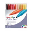 Alvin S360-24 - Pentel Color Pen Marker - 24-Color Set ES7342