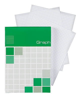 Alvin ALG13 Graph Pad - 4.1 x 5.8, 80-sheet pad (Box of 40 pads) ES7479