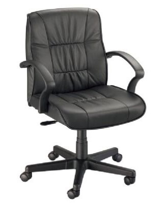 Alvin CH777-90 - Art Director Executive Leather Chair - Office Height ES7491