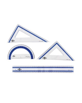 Alvin FL41 - 4-Piece Geometry Set ES7503