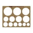 Alvin 1201I - Pickett Circles Template ES7720