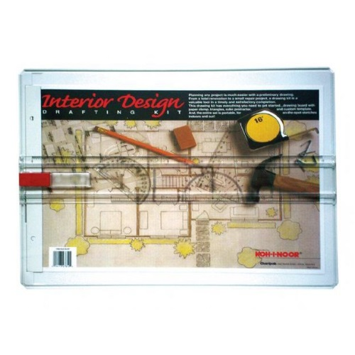 Alvin 522130INT - Koh-I-Noor Interior Design Drafting Kit ES7747