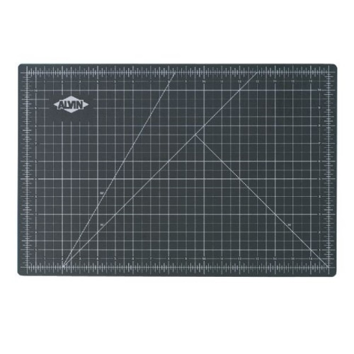"Alvin GBM1218 - GBM Series 12"" x 18"" Green/Black Professional Self-Healing Cutting Mat"