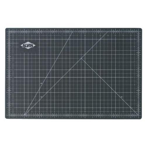 "Alvin GBM1824 - GBM Series 18"" x 24"" Green/Black Professional Self-Healing Cutting Mat"