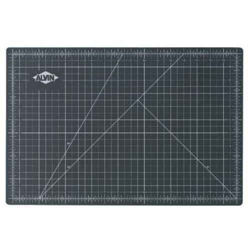 Alvin GBM2436 - GBM Series 24 x 36 Green/Black Professional Self-Healing Cutting Mat