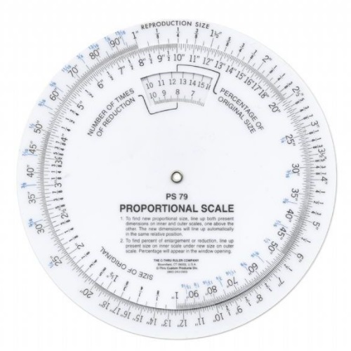 Alvin PS79 - Westcott C-Thru 6 Proportional Scale