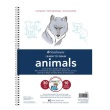 Strathmore ST25-050 - 200 Series Learning Series Pad - Learn Animals ES8423