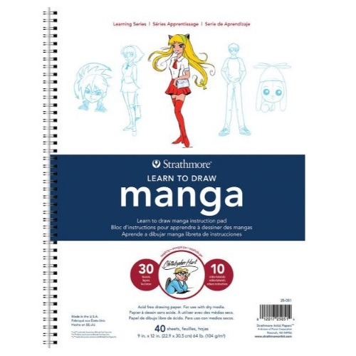 Strathmore ST25-051 - 200 Series Learning Series Pad - Learn Manga
