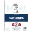 Strathmore ST25-052 - 200 Series Learning Series Pad - Learn Cartoons ES8425
