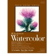 "Strathmore ST298-103 - 400 Series 5 1/2"" x 8 1/2"" Cold Press Watercolor Pad - Tape Bound ES8432"