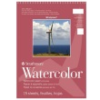 "Strathmore ST640-11 - Windpower 11"" x 15"" Cold Press Watercolor Pad - Wire Bound ES8434"
