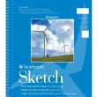 "Strathmore ST657-6 - Windpower 5 1/2"" x 8 1/2"" Sketch Pad - Wire Bound ES8435"