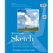 "Strathmore ST657-9 - Windpower 9"" x 12"" Sketch Pad - Wire Bound ES8436"