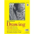 "Strathmore ST340-109 - 300 Series 9"" x 12"" Drawing Pad - Glue Bound ES8447"