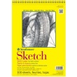 "Strathmore ST350-9 - 300 Series 9"" x 12"" Sketch Pad - Wire Bound ES8460"