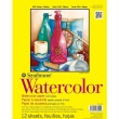 "Strathmore ST360-111 - 300 Series 11"" x 15"" Cold Press Watercolor Pad - Tape Bound ES8467"