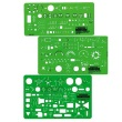 Alvin 300R - Rapidesign Electrical/Electronic Template (3 Pack) ES8851