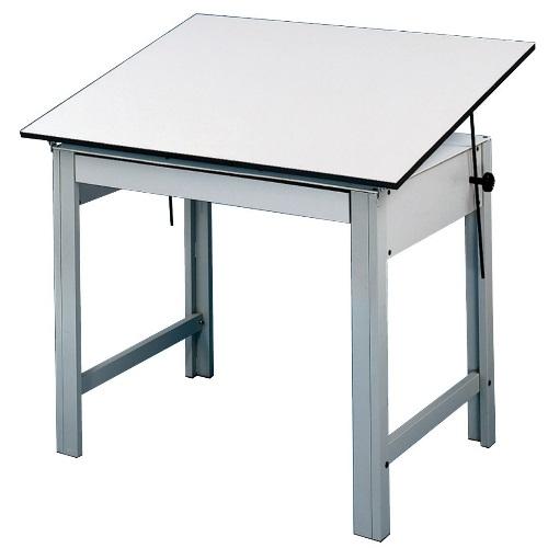 Alvin DesignMaster Table Gray Base With 375 X 60