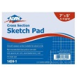 "Alvin 1424-1 - 7"" x 5"" Cross Section Sketch Pad ES9008"
