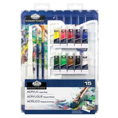 Royal and Langnickel Essentials - Essentials 15 Piece Acrylic Set - RD584