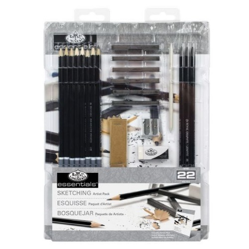 Royal and Langnickel Essentials - Essentials 22 Piece Sketching Set - RD582