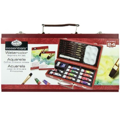 Royal and Langnickel Essentials - Watercolor Painting for Beginners Set - RSET-WAT3000