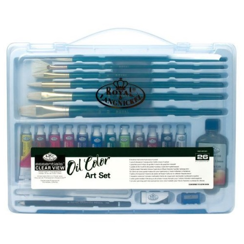 Royal and Langnickel Essentials - Clear View Oil Painting Set - RSET-ART3201