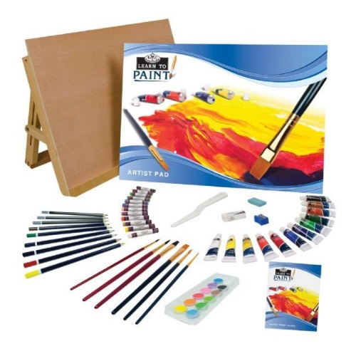 Royal and Langnickel - Learn to Paint Set - RSET-LT101