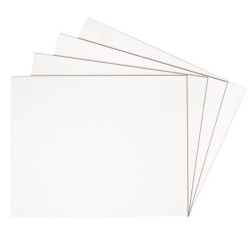 Alvin White on White 11 x 14 Presentation Boards - PW1114-25
