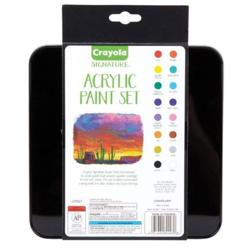 Crayola Signature 16 ct. Acrylic Paint Set - 20-2003
