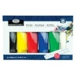 Royal and Langnickel Essentials 120ml Acrylic Paint Set - RACR120-6 ES9166