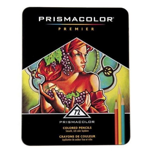 Prismacolor Premier Colored Pencil 72-Color Set - PC972