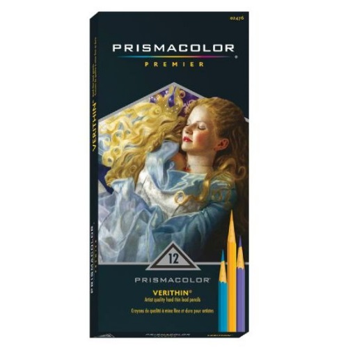 Prismacolor Verithin Premier Pencil 12-Color Set - E796