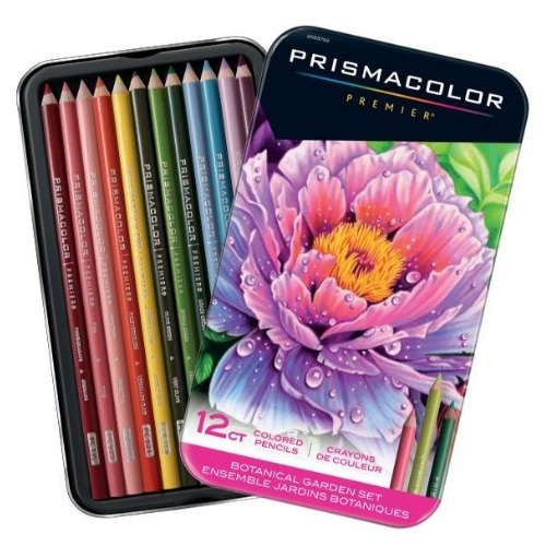 Prismacolor Botanical Garden Themed Colored Pencil Set - SN2023752