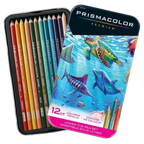 Prismacolor Under the Sea Themed Colored Pencil Set - SN2023751