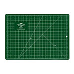 "Alvin GBM Series 3 1/2"" x 5 1/2"" Green/Black Professional Self-Healing Cutting Mat - GBM0305 ET10668"