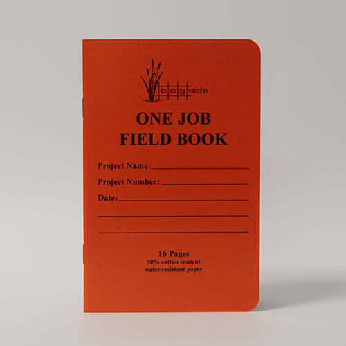 Bogside Publishing B-320 One Job - Field Book