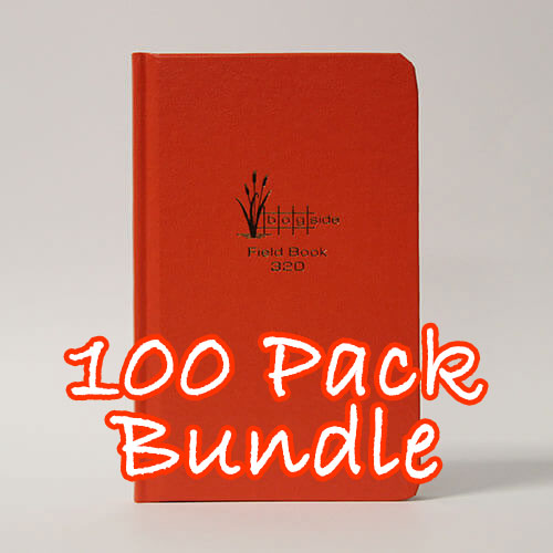 Bogside Publishing B-320 - Field Book (Bundle of 100 Books)