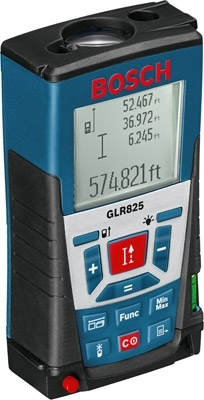 Best Bosch Outdoor Laser Measure: Bosch GLR825