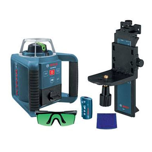 Bosch Self Leveling Green Rotary Laser With Layout Beam