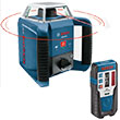 Bosch Self-Leveling Rotary Laser with Laser Receiver GRL400H ES3003
