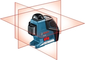 Bosch 360-Degree 3-Plane Leveling and Alignment Line Laser GLL3-80