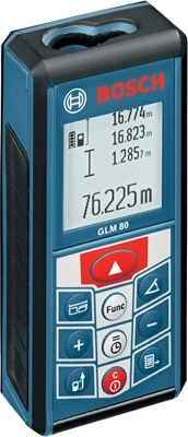 Bosch GLM 80 Digital Laser Distance Measuring Tool with 265 Foot Range ES4173